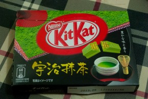 Tea-flavored KitKat