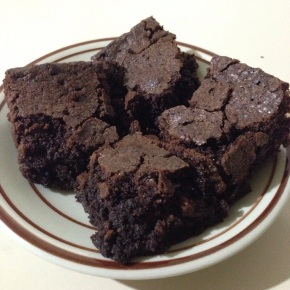 RECIPE: Plain Cocoa Brownies
